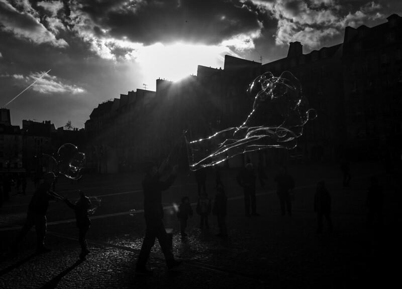 Outside Le Centre Pompidou