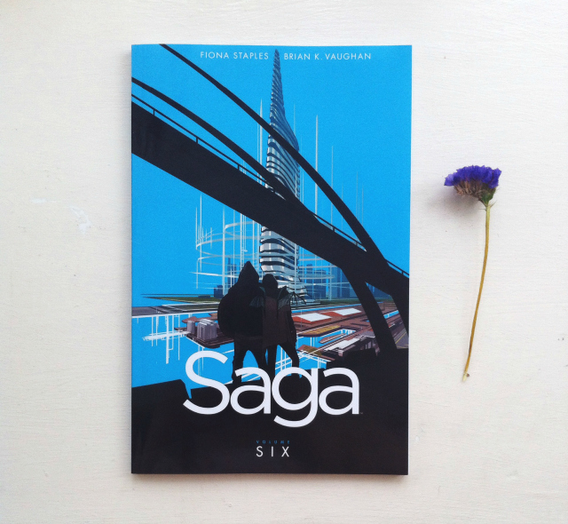 saga volume 6 brian k vaughan and fiona staples book review