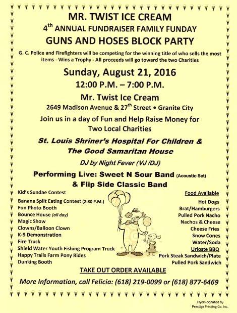 Guns and Hoses 8-21-16