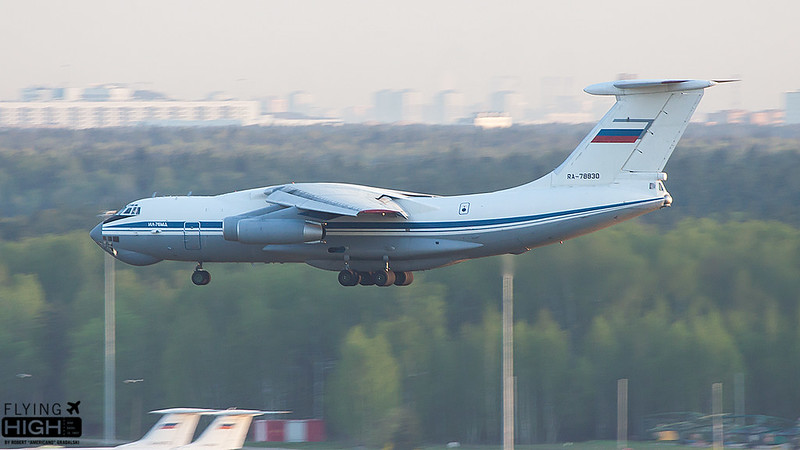 Russia 223rd Flight Unit IL76