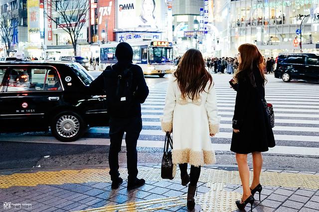 那些RX1走過的冬季 | 03 | 澀谷,五光十色
