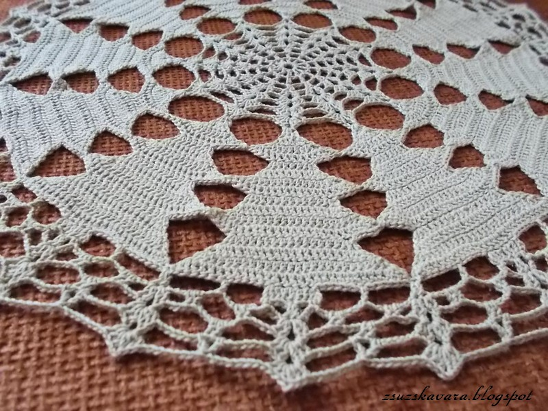 crochet, christmas, tree, doily (3)