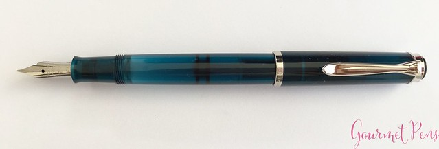 Review Pelikan Classic M205 Aquamarine Fountain Pen Review @AppelboomLaren 8