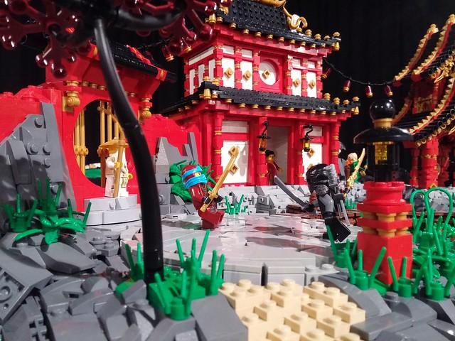 A Quaint Village Of Ninjago The Brothers Brick The