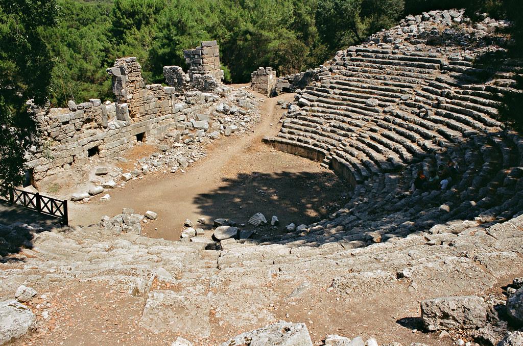 Phaselis, theatre