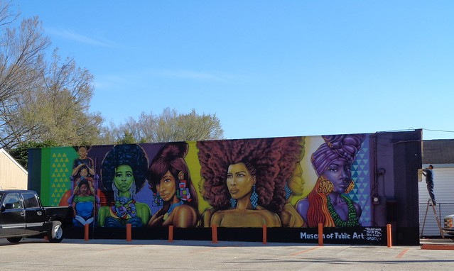Museum of Public Art Mural, Baton Rouge LA