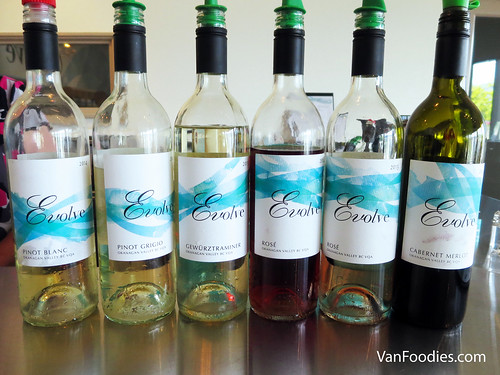 Wines from Evolve Cellars