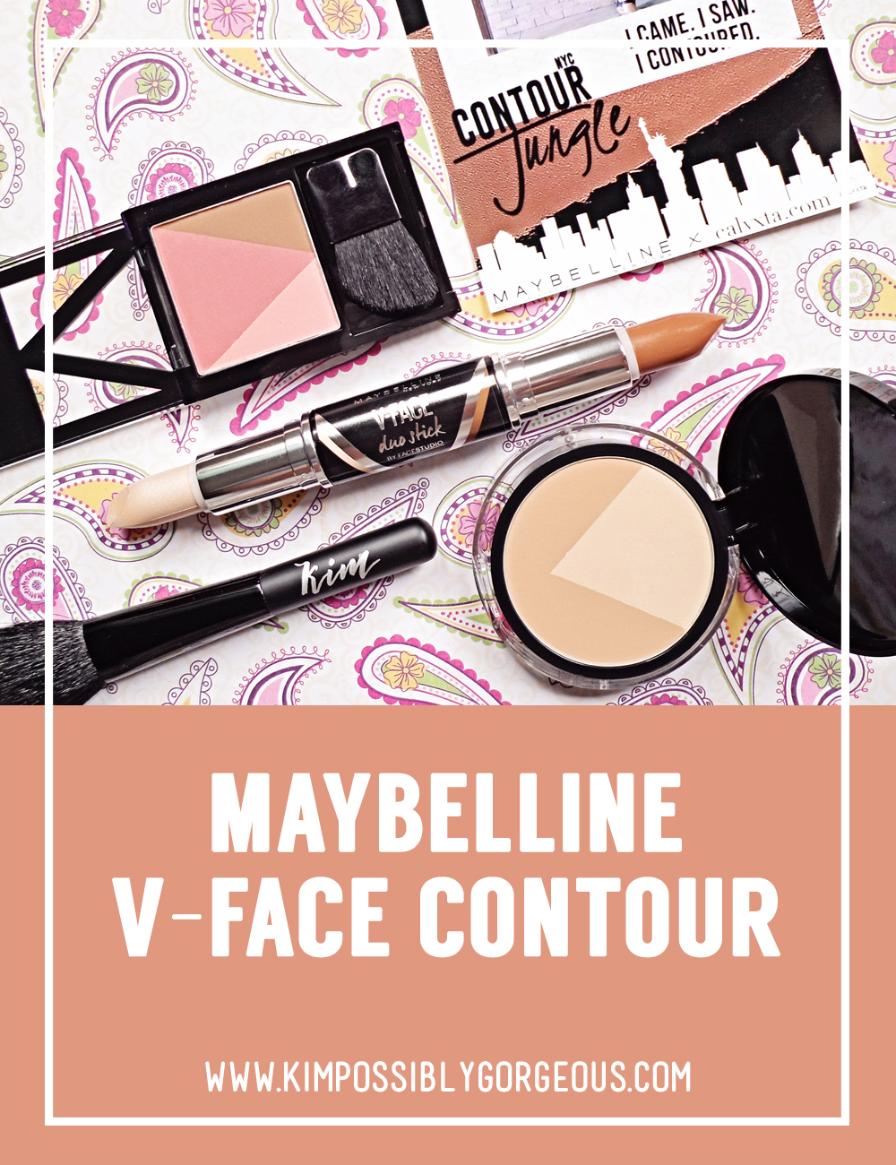 Contouringmadeeasy Maybelline V Face Contour Review Kimpossibly Duo Powder Contouring To My Katukayo Closest Translation Is Namesake Kim Kardashian Became Such A Big Thing In Almost Everyones Makeup Routine