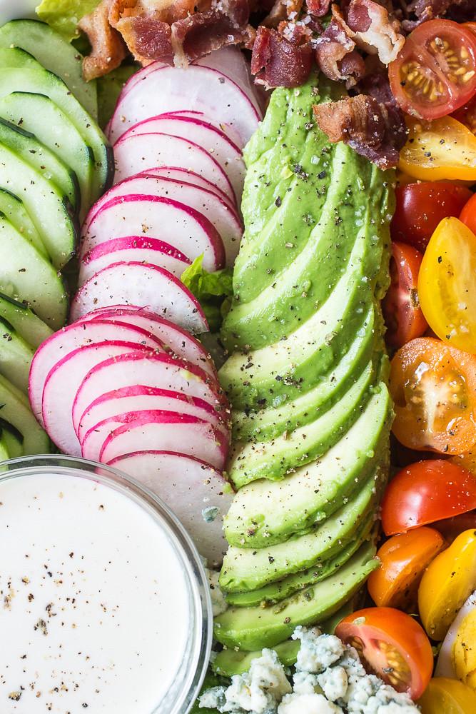 Cobb Salad for Two with Genius Caesar Salad