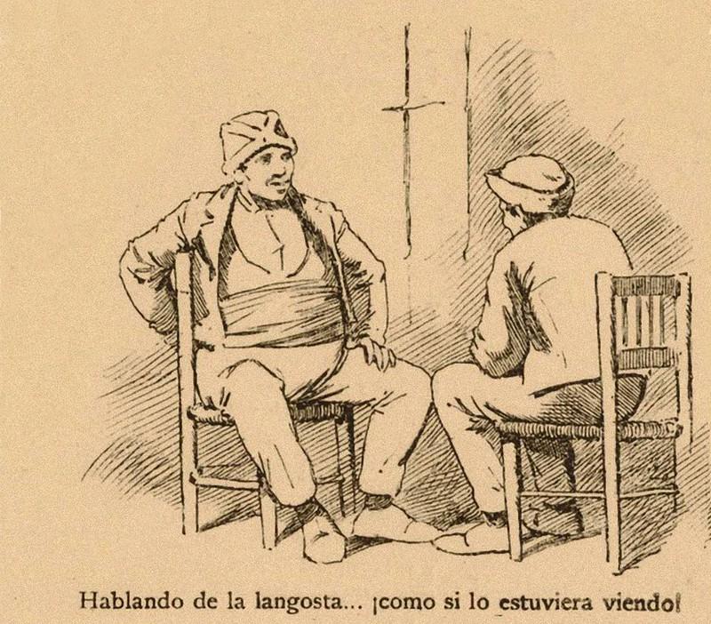 hablando de la langosta