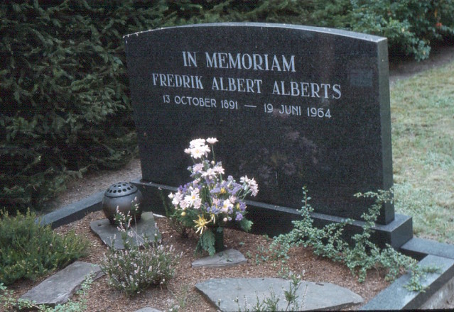 Opa's grave