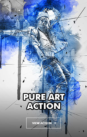 Creative Splatter Photoshop Action - 31