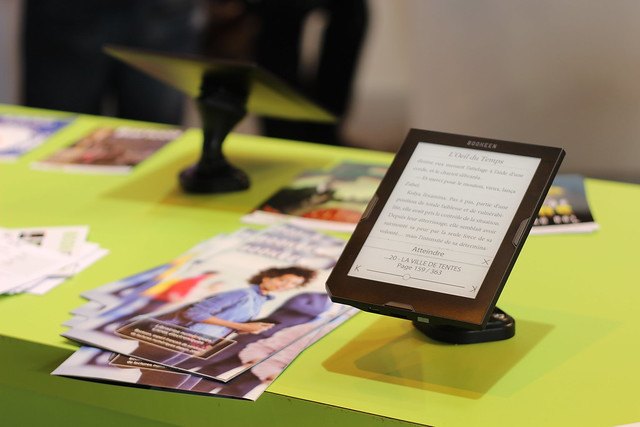 Bookeen - Salon du Livre de Paris 2015