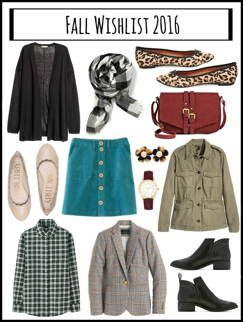 fall style wishlist 2016; Style On Target blog