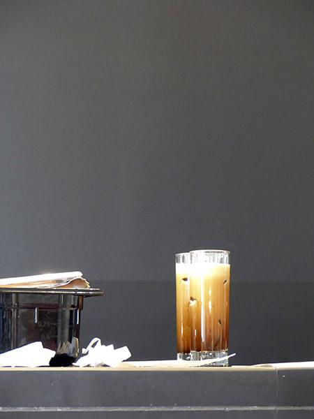café au musée de l'Acropole
