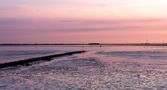 Wadden Sea Sunset IV