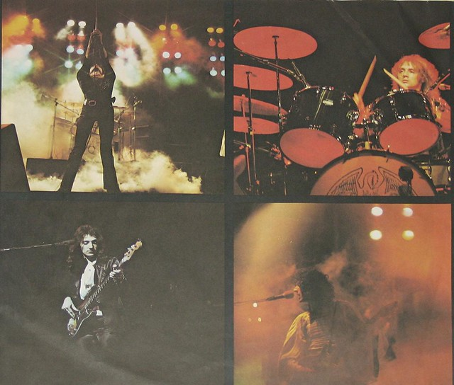 QUEEN NIGHT AT THE OPERA FOC GATEFOLD