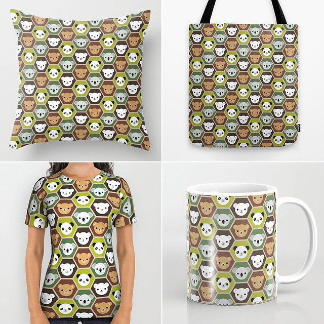 Autumn Bears at Society6