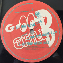 GROOVE B CHILL:HIP HOP MUSIC(LABEL SIDE-A)