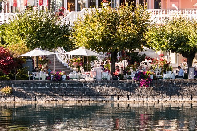 terrace by the lake