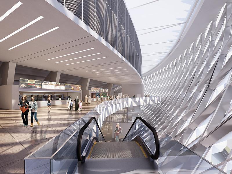 Крупнейший стадион в Дубае. Проект Perkins + Will