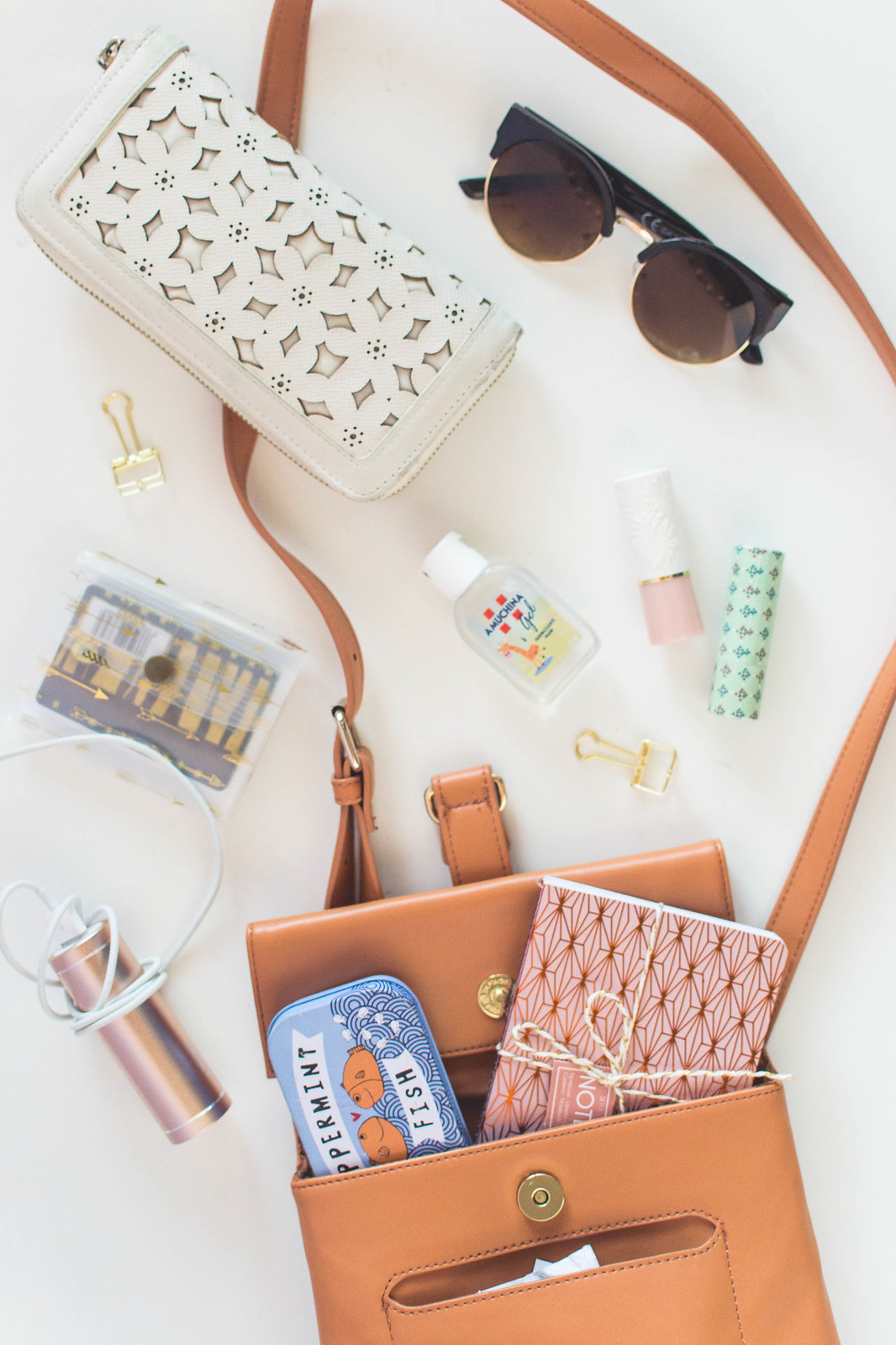 What's In My Crossbody Bag