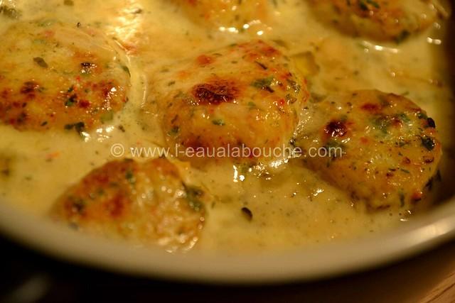 Noix de St Jacques  Gratinées Parfumées au Curry © Ana Luthi Tous droits réservés 18