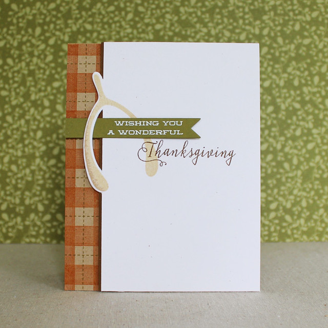 Wonderful Thanksgiving Card