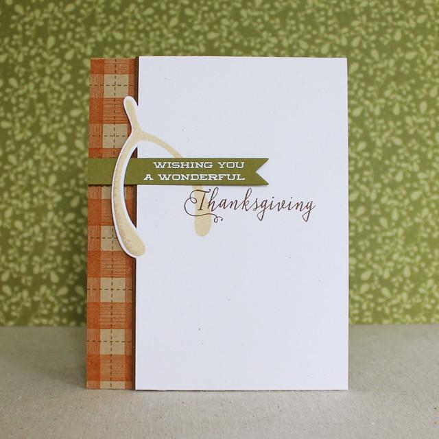 Wonderful Thanksgiving Card