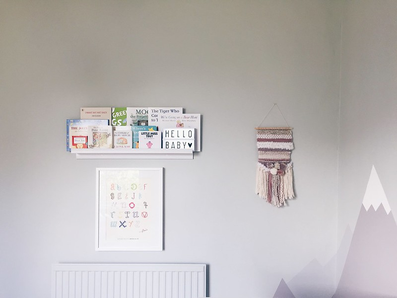 girls nursery wall hangings