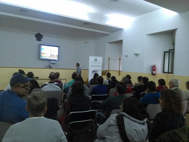 """Charla Asociación """"La Encina"""" Área de Capacitación para la Vida Autónoma (18 de octubre de 2016)"""