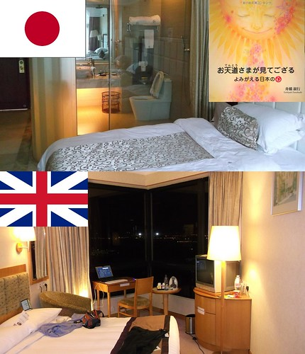 Japanese and Foreign Hotel Guests