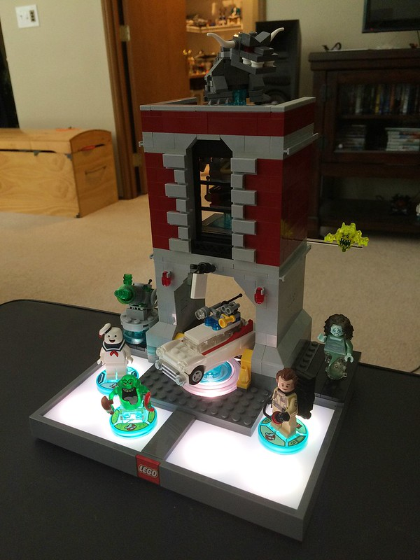 Moc Ghostbusters Hq Dimensions Portal Lego Licensed Eurobricks