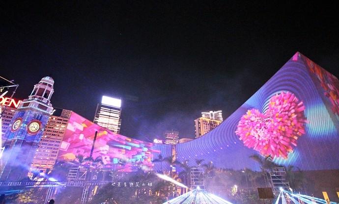 28 香港 閃躍維港 3D光雕匯演