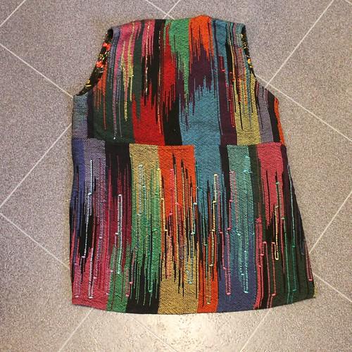 Hand woven garment