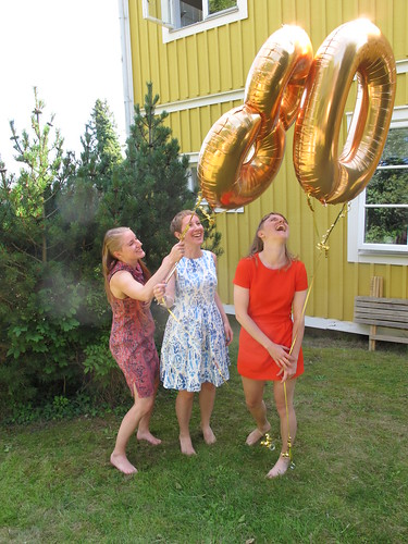 portraits, our 80th birthday party, karlskrona
