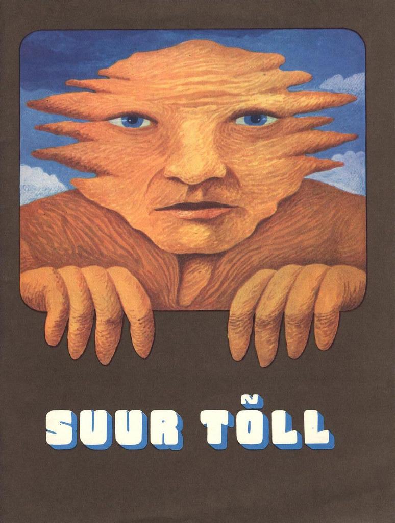 Tõll the Great - Front Cover - Written by Rein Raamat, Illustrated by Jüri Arrak, 1982