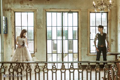 [高雄婚紗推薦]Kiss九九為我和歐爸拍出唯美又韓風的婚紗照 (2)