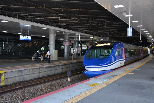 智頭急行HOT7000 新大阪駅