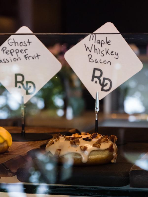 Maple Whiskey Bacon Donut