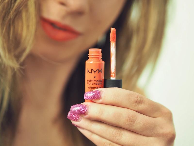 nyx soft matte lip cream san juan oranssi