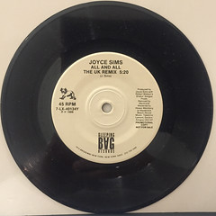 JOYCE SIMS:LOVE MAKES A WOMAN(RECORD SIDE-B)