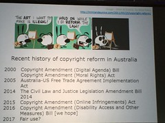 Recent history of copyright reform