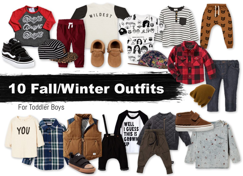 Toddler Boy Outfits for Fall Winter