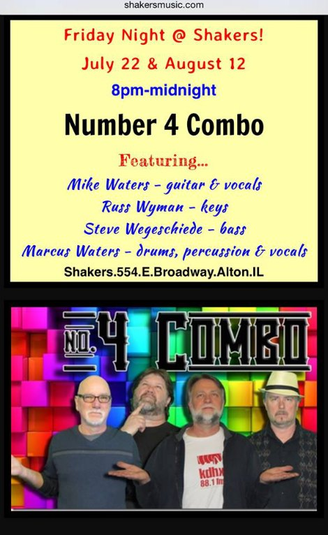 Number 4 Combo 7-22, 8-12-16