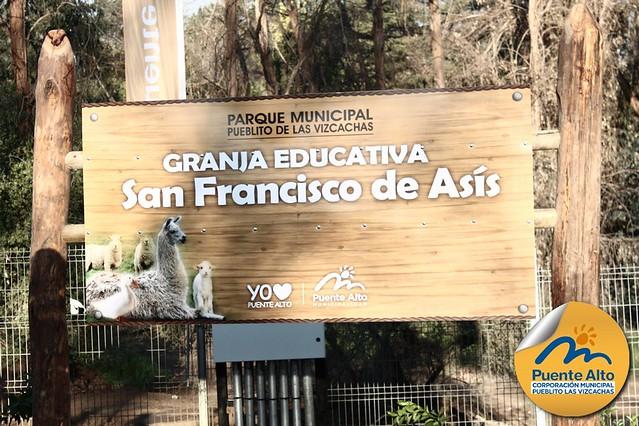 Inauguración Granja Educativa - Parque Municipal Pueblito de Las Vizcachas.