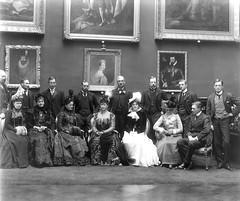 A Royal group in Kilkenny Castle