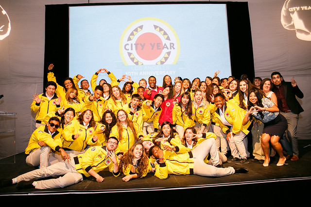 City Year L.A. 10th Anniversary Opening Day 2016