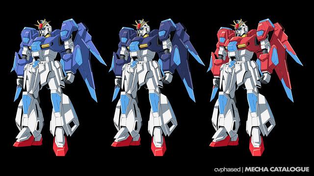 Scramble Gundam - Initial Color Studies