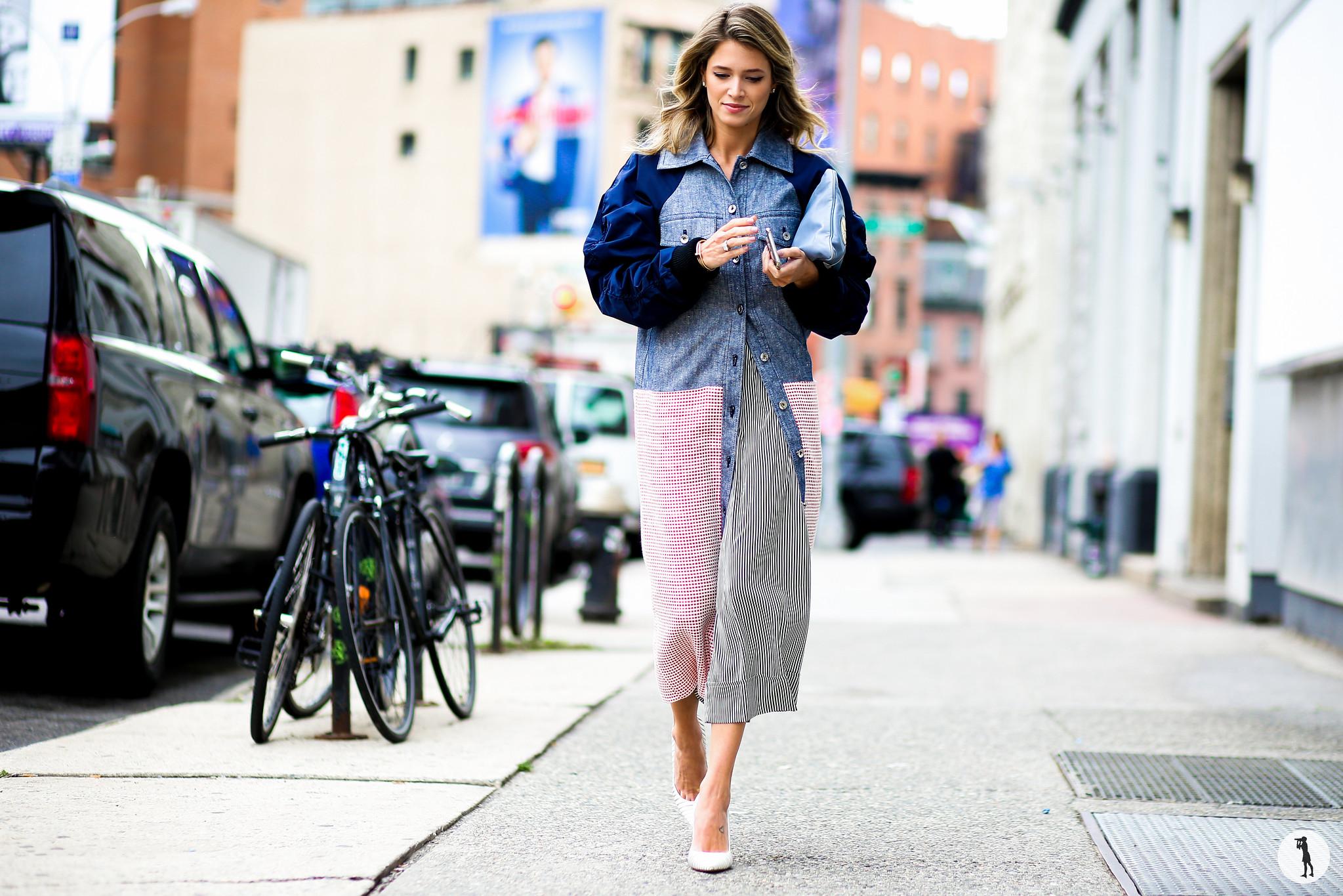 Helena Bordon at New York Fashion Week 2